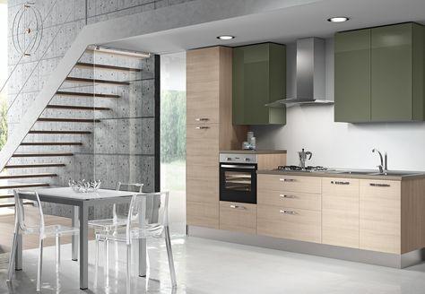 Cucina Zenzero Zafferano k19 | Cucine Moderne | Cucine ...