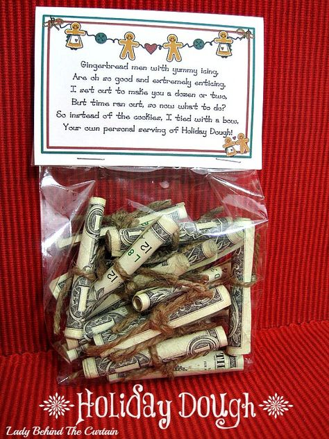 DIY Holiday Dough Gift -