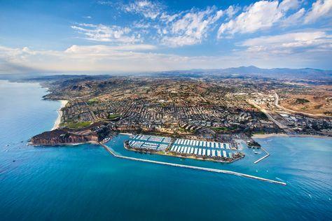 Dana Point California Orange County Beaches Earth City Southern California Beaches