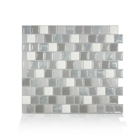 smart tiles brixia casoria 10 20 in w x 8 85 in h peel and stick rh pinterest es
