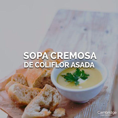 Receta para bajar de peso con sopa de coliflor