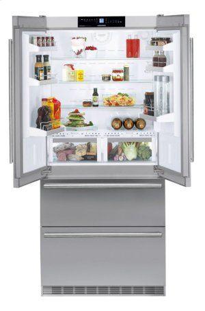 Liebherr Cbs2062 36 Fridge Freezer With Biofresh And Nofrost In New Jersey Freestanding Fridge American Style Fridge Freezer Luxury Refrigerator
