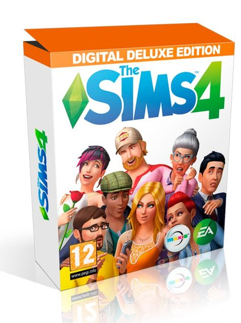 Sims 4 Digital Deluxe Edition Sims 4 Sims