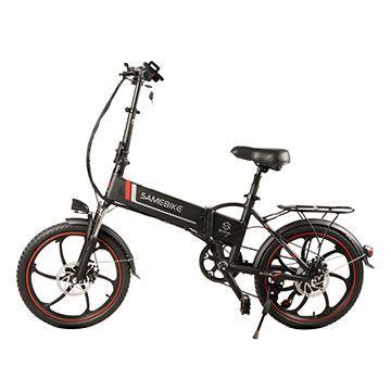 China 48v8ah 350w Folding Electric Bike From Guangzhou