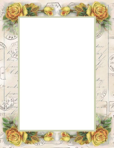 Ldr Love Letter Paper In 2020 Letter Paper Printable Frames Frame
