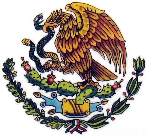 Mexican Flag Eagle Google Search Mexican Art Mexican Flag Tattoos