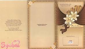Desain Undangan Gambar Undangan Pernikahan Kosong - Kartu ...