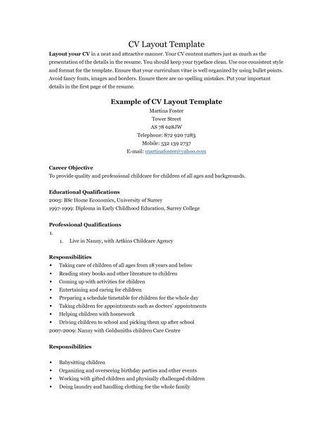 resume RESUMES Pinterest Resume examples - nanny skills resume
