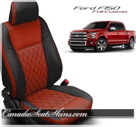 2015 2020 Ford F150 Custom Leather Interiors Standard Pattern Ford F150 Ford F150 Custom F150