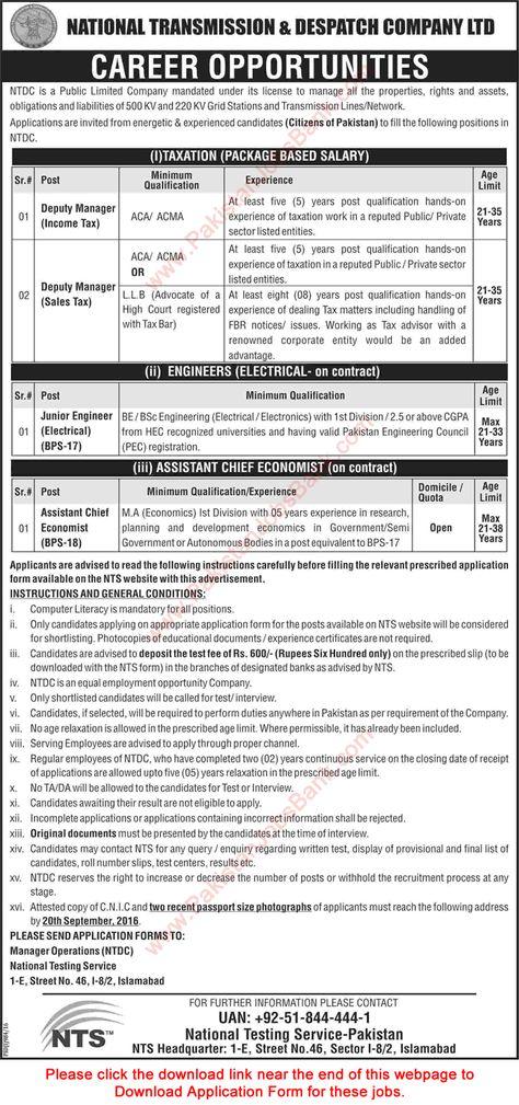 Po Box  Islamabad Jobs  June Ndc  Nescom Assistant