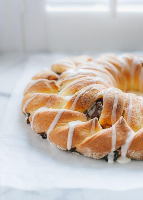 Braided Nutella Bread | www.kitchenconfid...