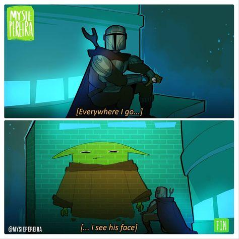 Star Wars Witze, Star Wars Jokes, War Comics, Star War 3, The Force Is Strong, Clone Wars, Funny Memes, Fandoms, Fan Art