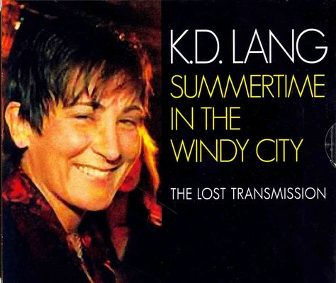 K.D. Lang - Summer Time in the Windy City, Black