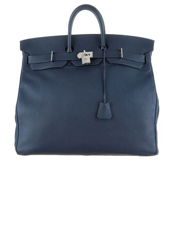 38dab0e703 Hermès Navy 50cm HAC Birkin Bag.