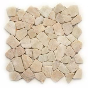 Visit The Home Depot To Buy Solistone Indonesian Mosaic 12 In X 12 In Alor Crystal Onyx Mesh Mounted Mosa Stone Mosaic Tile Mosaic Flooring Mosaic Floor Tile