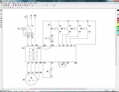 Descargar Cade Simu S1 Gratis Simulador De Descargar Electricidad Industrial Electricidad Esquemas Electronicos
