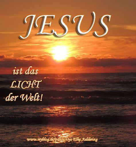 Tag 13: JESUS IST DAS LICHT! - pdh-ichtys - myblog.de