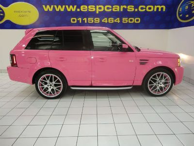 07 07 Range Rover Sport 2 7 Hse Pink 18k Of Fantom Styling Ebay Pinkrangerovers 07 07 Range Rover Sport Range Rover Sport Range Rover Hse Pink Range Rovers