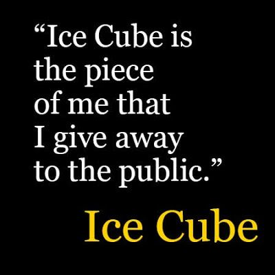 Ice Cube Quotes Ice Cube Inspirational Quotes Success