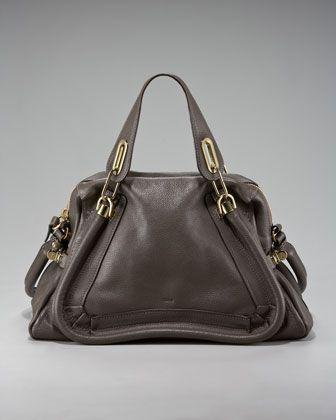 c09de1ff Paraty Calfskin Satchel Medium | Love it! | Chloe purses, Bags ...