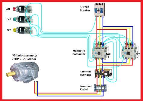 wiring diagram for forward reverse single phase motor 1992 honda civic fuse box elec eng world cnc i