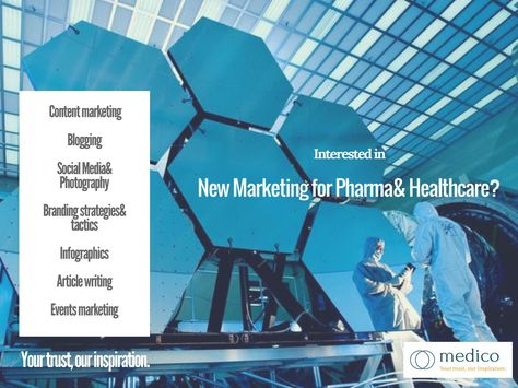 Medico- your best choice for Content marketing for pharma and healthcare