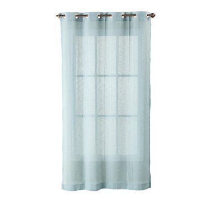 Better Home Gardens Hemstitch Sheer Curtain Panel With Grommets