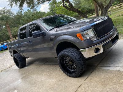 2013 Ford F 150 22x12 51mm Arkon Off Road Alexander In 2020 Offroad Ford F150 Tyre Brands