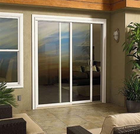 Sliding Glass Windows And Doors Are Visually Pleasing Because They Permit Extra Light Right Int Door Glass Design Sliding Doors Exterior Fiberglass Patio Doors