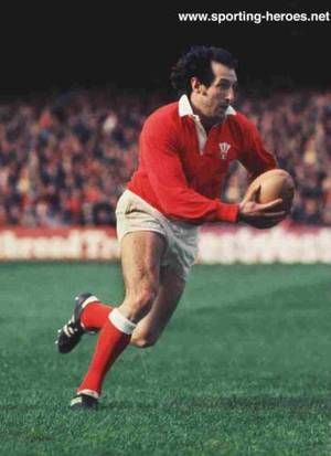 Sir Gareth Owen Edwards, CBE (born 12 July is a Welsh former rugby union player who played scrum-half and has been described by the BBC as