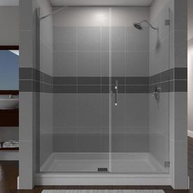 Arizona Shower Door Desert Collection 46 In To 47 In W Frameless