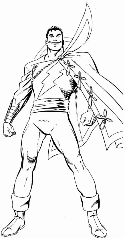 Captain Marvel Coloring Page Fresh Byrne Robotics Captain Marvel With Exterior Trunks Captain Marvel Shazam Marvel Coloring Captain Marvel