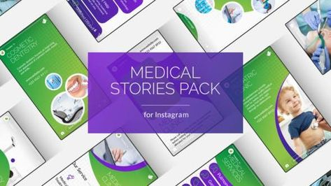 16 Medical & Healthcare Instagram Stories - After Effects Template