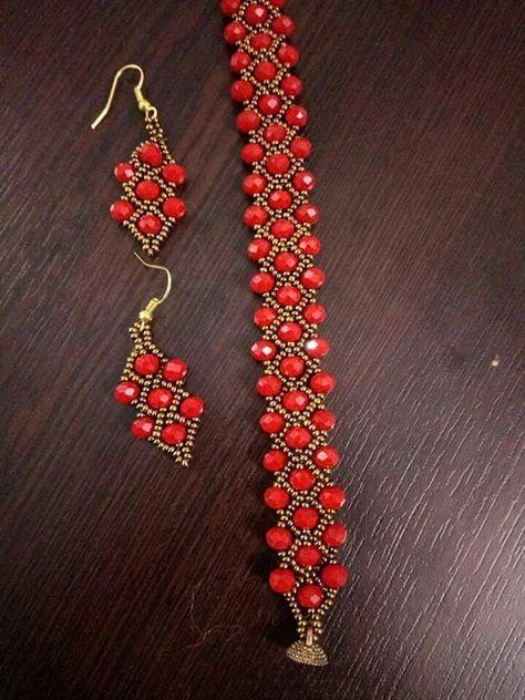 Beaded ornaments - new season bijouterie