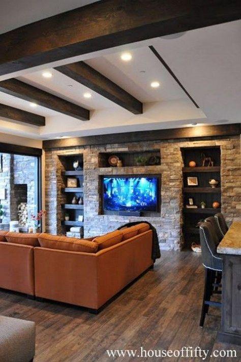 50 Best Inspiring Cozy Basement Remodeling Ideas Cozy Basement Family Room Design Basement Remodeling