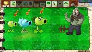 Team Plants PvZ vs Giga-Gargantuar Plants vs Zombies