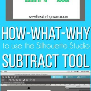 How To Subtract In Silhouette Studio Silhouette Boot Camp Lesson 7 Silhouette Cameo Tutorials Silhouette Tutorials Silhouette Studio