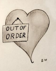 My heart is like the one in the picture right now. I love some people and with others, it feels like my heart is out of order and I just want to shut them out from me. My favorite friend is someone that I don't get to see too much because we are both busy. I just wish that they could be here by my side so I know that I have someone here for me. Someone that I can count on. Someone that cares and would do anything to be there in my time of need. I really miss them and wish they could be with me..
