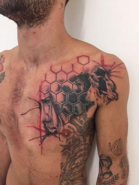 Another Trash Polka Tattoo