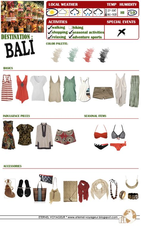 #indonesia #packing #bali #forPacking for Bali, Indonesia