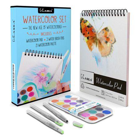 Toys Water Brush Pen Watercolor Paint Set Paint Pads