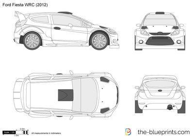 Ford Fiesta Wrc In 2020 Ford Fiesta Ford Car Drawings