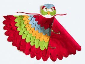 Papagei Kostum Selber Machen Ideen Mit Anleitung Fur Klein Und