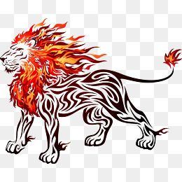 Fire Lion Png Vector Psd And Clipart With Transparent Background For Free Download Pngtree Fire Lion Lion Clipart Clip Art