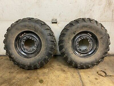 2014 2020 Polaris Sportsman 570 Efi Rear Back Wheels Rims W Tires Ebay In 2020 Wheel Rims Wheel Rims