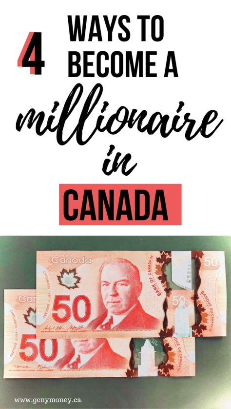 How to Get Rich in Canada: Be Glorious and Free - Genymoney.ca