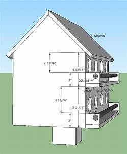 Bird House Printable Chart Free Yahoo Image Search Results Martin Bird House Bird House Plans Purple Martin House Plans