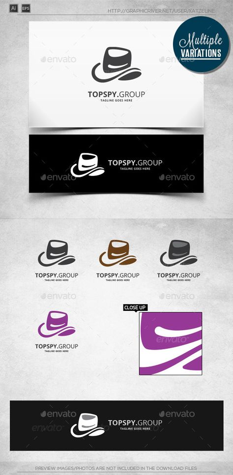 Right Spy - Logo Template