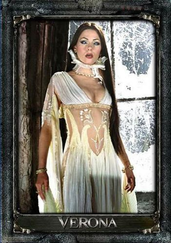 Verona - Silvia Colloca Photo: Verona's Gown