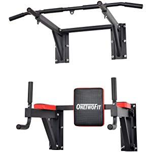 Onetwofit Pullupfitness Barre De Traction Murale Chaise Romaine Murale Musculation Fitness 3 An Barre De Traction Equipement De Musculation Barre Musculation
